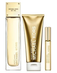 Michael Kors Sexy Amber 3 Piece Deluxe Gift Set No Color