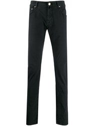 Jacob Cohen Skinny Fit Chinos Black