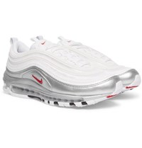 Nike Air Max 97 Qs Faux Leather And Mesh Sneakers White