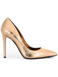 Ermanno Scervino Stiletto Pointy Pumps Metallic