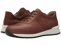Finn Comfort Prezzo Saddle Seta Men's Lace Up Casual Shoes Brown