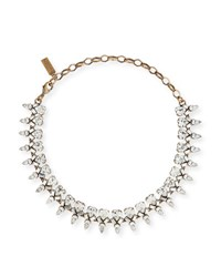Auden Arya Clear Crystal Statement Necklace