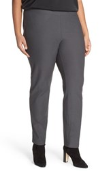 Plus Size Women's Eileen Fisher Stretch Knit Slim Leg Pants