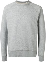 Our Legacy Classic Sweatshirt Men Cotton Polyester S Grey