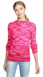 Michaela Buerger Boat Neck Sweater Pink
