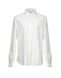 Roccobarocco Shirts Ivory
