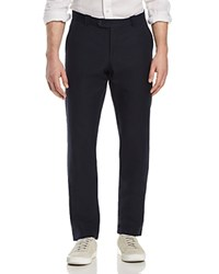 Bloomingdale's The Men's Store At Canvas Regular Fit Pants 100 Exclusive Navy