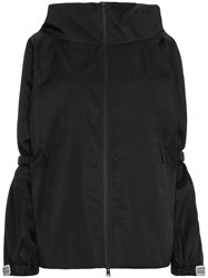 Prada Sport Tech Oversized Shoulder Jacket Black