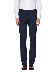 Vito Trousers Casual Trousers Men Dark Blue