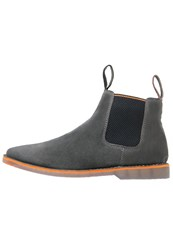 Superdry Dakar Boots Dark Charcoal Black