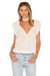 Velvet By Graham And Spencer Christabel Blouse White