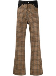 Our Legacy Denim Yoke Houndstooth Trousers 60