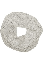 Helmut Lang Alpaca Blend Snood Gray