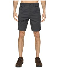 Royal Robbins Alpine Road Shorts Charcoal Men's Shorts Gray