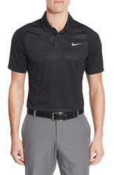 Nike Men's Tiger Woods Velocity Max Dri Fit Golf Polo