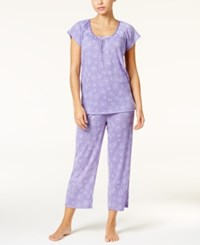 Charter Club Satin Trim Lightweight Pajama Set Only At Macy's Daisy Days