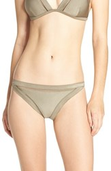 Ted Baker Women's London Bikini Bottoms Khaki