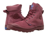 Palladium Pampa Cuff Wp Lux Pomegranate Diva Blue Boots Red