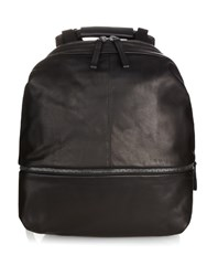 Cote And Ciel Meuse Alias Leather Backpack Black