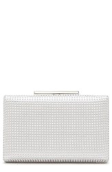 Vince Camuto Luv Minaudiere Ivory