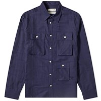 A Kind Of Guise Asmo Overshirt Blue