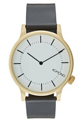 Komono Winston Regal Watch Multicolor Black