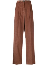 I'm Isola Marras High Waisted Trousers Brown