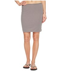 Icebreaker Tsveti Reversible Skirt Bracken Soft Pink Heather Women's Skirt Gray