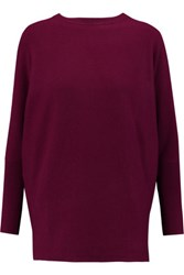 N.Peal Cashmere Cashmere Sweater Plum