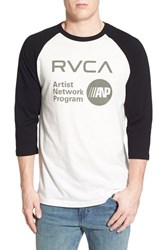 Men's Rvca 'Anp' Graphic Baseball T Shirt