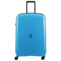 Delsey Belmont 76Cm 4W Large Case Metallic Blue Blue