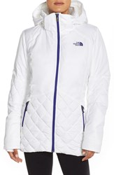The North Face Women's 'Caspian' Water Resistant Down Jacket Tnf White