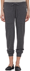 Barneys New York Cashmere Sweatpants Gray