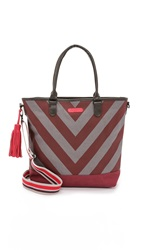 Bensimon Fancy Tote Plum Stripe