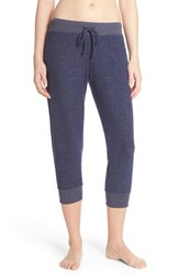 Women's Make Model Cozy Brushed Hacci Jogger Pants Navy Dusk