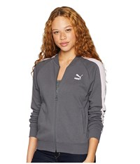 Puma Classics T7 Track Jacket Iron Gate Coat Gray