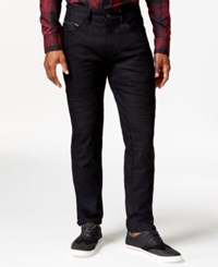 Sean John Triumph Overdyed Black Wash Jeans