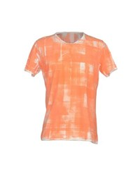 U Ni Ty Topwear T Shirts Men Orange