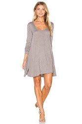 Lamade Lily Scoop Dress Gray
