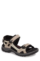 Ecco Women's 'Yucatan' Sandal Atmosphere Ice White