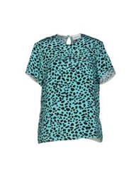 Sophie Hulme Blouses Turquoise