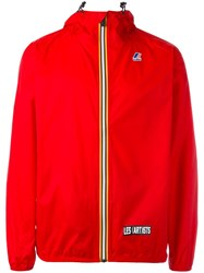 K Way Les Art Ists 'Gosha' Jacket Red