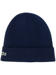 Lacoste Logo Embroidered Beanie Hat 60
