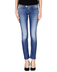 Takeshy Kurosawa Denim Denim Trousers Women Blue