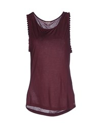 Galliano Topwear Vests Women Deep Purple