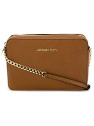 Michael Michael Kors Small Crossbody Bag Brown