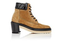 Pierre Hardy Women's Working Girl Suede Ankle Boots Tan