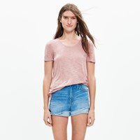 Madewell Anthem Crewneck Tee Faded Shale