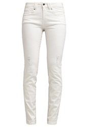 Edc By Esprit Slim Fit Jeans Off White