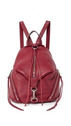 Rebecca Minkoff Medium Julian Backpack Beet